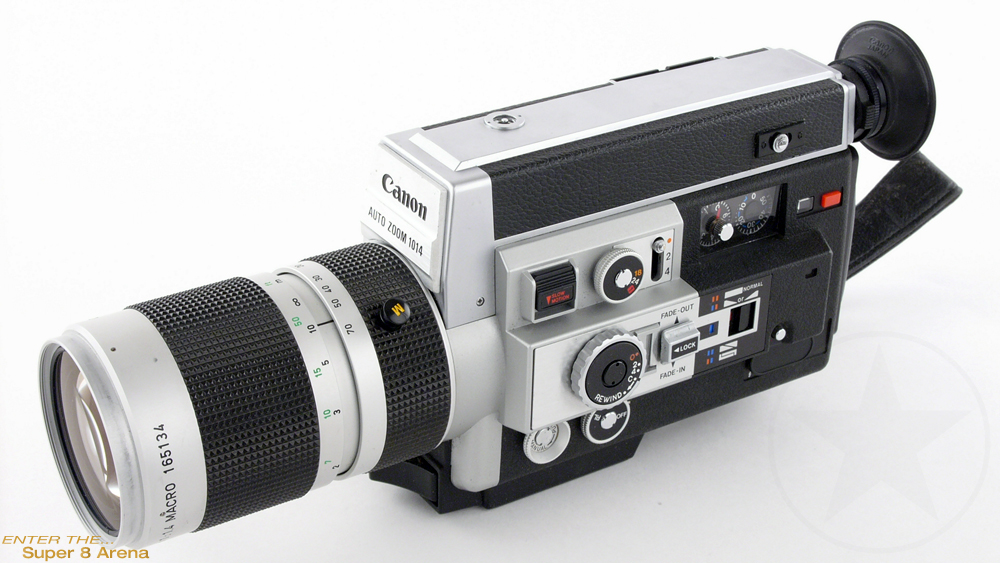 ORIGINAL Canon Auto Zoom 1014 Electronic Super 8 mm camera Manual Instructions